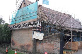 Case Study - Scaffolding in Whitchurch
