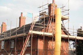 Mursley roof scaffolding